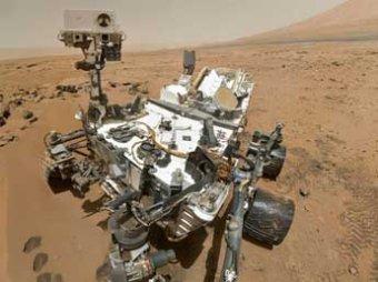 """Марсоход Curiosity сфотографировал на Марсе """"признаки разумной жизни"""""""