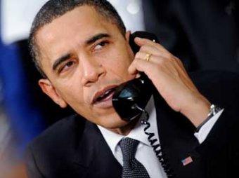 Обама обвинил РФ в поддержке протестов на Украине и пригрозил Путину санкциями