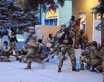 Cлавянск, новости онлайн 13.04.2014: в ходе спецоперации силовиков погибли люди (ВИДЕО)