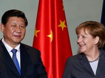 Скандал: Меркель подарила лидеру Китая провокационную карту