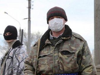 Над Славянском неизвестными обстрелян самолет ВВС Украины
