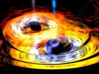 Астрономы обнаружили пару черных дыр, которые разнесли звезду в клочья