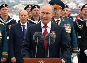 Парад Победы в Севастополе 2014: визит Путина возмутил Украину (ВИДЕО)