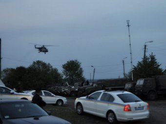 В Славянске сбит еще один военный вертолет