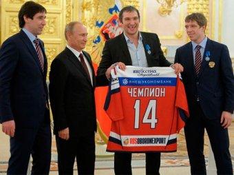 Хоккеист Овечкин выпросил у Путина автомобиль