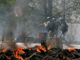 Ситуация в Славянске на 07.05.2014: силовики обстреливают ополченцев из минометов (ВИДЕО)