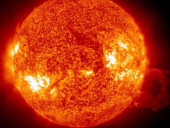 NASA: в Солнце образовалась дыра