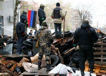 Донецкие ополченцы окружили и разоружили 120 силовиков