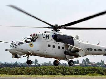 Киевские военные задействовали под Краматорском вертолеты с символикой ООН (ВИДЕО)
