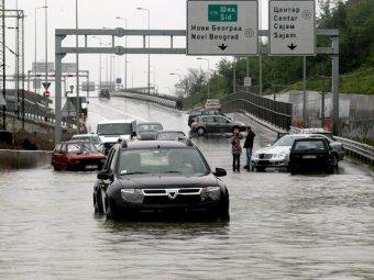 Сербия и Босния ввели режим ЧП из-за сильнейшего за 120 лет наводнения