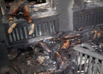 В сети появились шокирующие кадры из сожжённого Дома профсоюзов в Одессе (ВИДЕО)