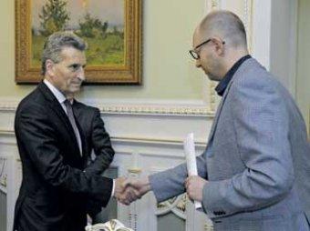 После газовых переговоров Россия перевела Украину на предоплату за газ