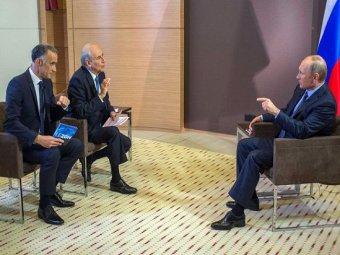 В интервью Путина французским СМИ в июне 2014 президент отверг домыслы о возрождении империи