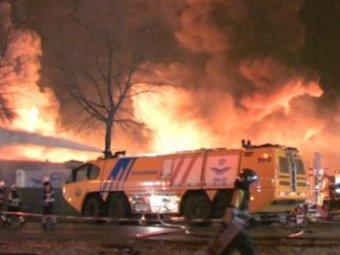 На заводе Shell в Нидерландах произошёл крупный пожар