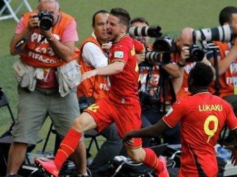 ЧМ-2014 по футболу: Бельгия одержала победу над Алжиром 2:1 (ВИДЕО)
