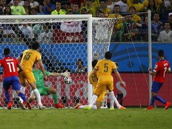ЧМ-2014: Мексика обыграла Камерун, а Чили – Австралию