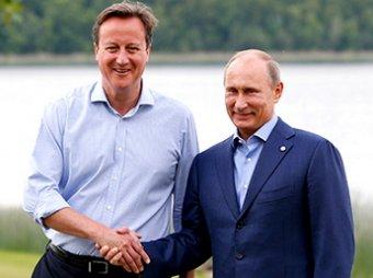 6 июня пройдет встреча Путина с Кэмероном