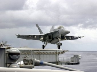 В США разбился еще один истребитель-бомбардировщик