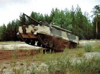 Под Ямполем ополченцы взорвали танк и 3 БМД Нацгвардии