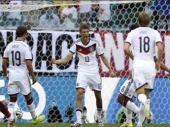 ЧМ-2014 по футболу: Германия разгромила Португалию со счетом 4:0 (ВИДЕО)