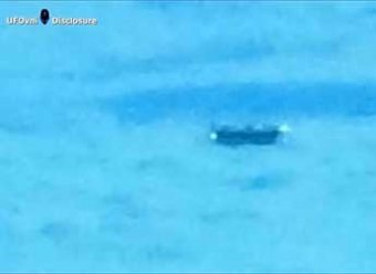 Пассажир самолета на подлете к Лондону снял на видео НЛО (ВИДЕО)