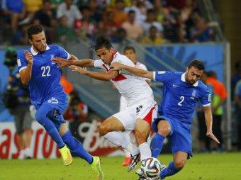 Коста-Рика по пенальти обыграла Грецию и вышла в 1/4 финала ЧМ-2014