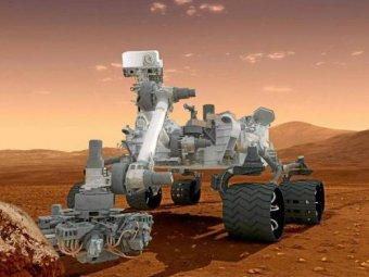 Марсоход Curiosity сделал селфи в честь года пребывания на Марсе