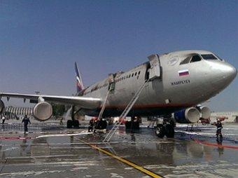 В аэропорту Шереметьево сгорел самолет Ил-96
