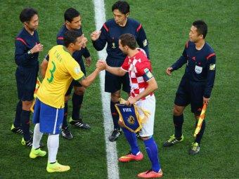 Бразилия обыграла Хорватию в стартовом матче ЧМ-2014