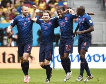 Нидерланды разгромили Бразилию в матче за 3-е место ЧМ-2014 (видео)