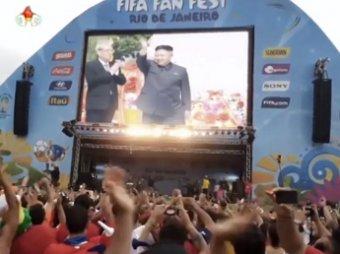 Телевидение КНДР вывело свою сборную в плей-офф ЧМ-2014