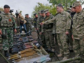 Порошенко пообещал убивать ополченцев «десятками и сотнями»