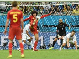 Бельгия переиграла США и вышла в 1/4 финала ЧМ-2014 (видео)