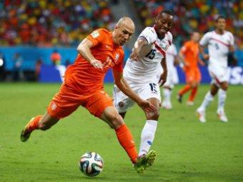 Нидерланды обыграли Коста-Рику по пенальти и вышли в 1/2 финала ЧМ-2014