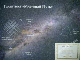 Украинские астрономы назвали новую звезду в честь Путина