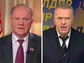 На Украине завели дела против Зюганова и Жириновского и готовятся их арестовать