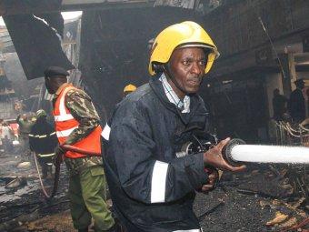 В Кении грузовой самолёт упал на здание: погибли четыре человека