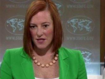 Псаки: США не признает данные ООН о 110 тысячах беженцев с Украины в России