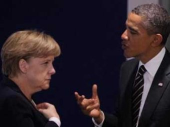 Обама с Меркель впервые поговорили после шпионского скандала и вновь обвинили Россию