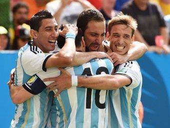 ЧМ-2014: Аргентина обыграла Бельгию со счетом 1:0 и вышла в полуфинал