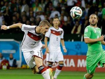 Германия - Алжир: немцы с трудом прошли в 1/4 финала ЧМ-2014 (ВИДЕО)