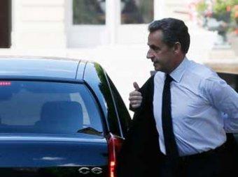 Во Франции взят под стражу экс-президент Николя Саркози