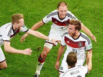 Германия выиграла чемпионат мира по футболу 2014, обыграв в финале Аргентину 1:0 (видео)