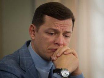 Скандального депутата Ляшко избили в здании Верховной рады (видео)