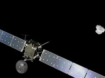 Межпланетная станция Rosetta вышла на орбиту кометы Чурюмова-Герасименко