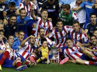 «Атлетико» выиграл Суперкубок Испании, победив «Реал» со счетом 1:0