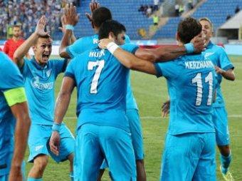 ЛЧ-2014 по футболу: «Зенит» обыграл «Стандард» со счетом 3:0 (ВИДЕО)