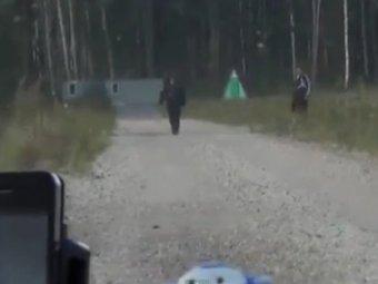"""Видео нападения на журналистов """"Дождя"""" под Псковом попало в Сеть"""