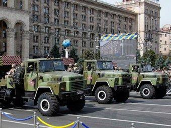 Парад в Киеве 24 августа 2014: пиар-акция Украины в разгар войны (видео)