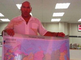 Николай Валуев отправил Псаки бандероль с картой России